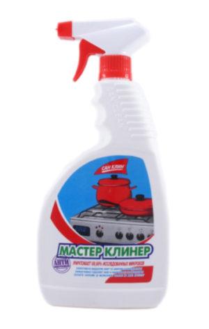 Средство для плит МАСТЕР КЛИНЕР 750мл, с распылителем