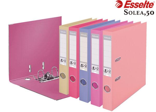 Папка-регистратор А4, 50мм ESSELTE №1 Power Solea нежные цвета