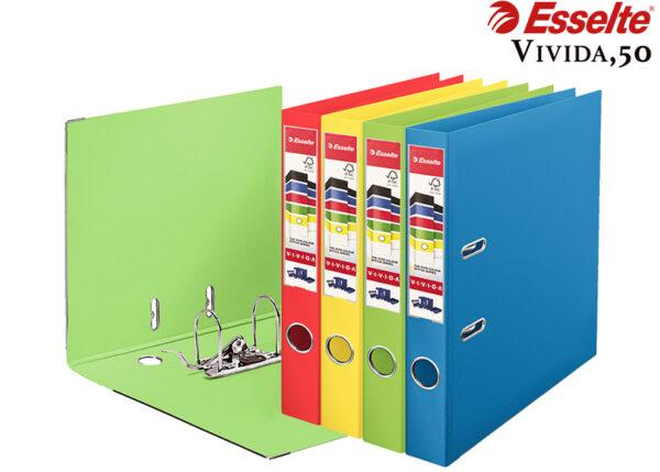 Папка-регистратор А4, 50мм ESSELTE №1 Power VIVIDA