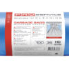 Пакеты для мусора PRO-16112800 35л, 100шт, 8мкм, синие