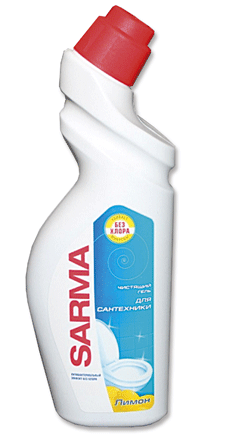 Гель SАРМА для дезинфекции для унитаза, 750мл