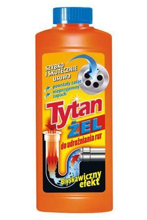 Гель Tytan для прочистки труб 500мл
