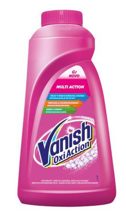 Пятновыводитель VANISH для цветных тканей, 1л