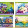 Альбом для рисования ZIBI 40 листов, клееный