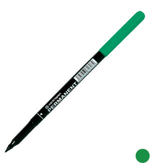 Маркер перманентный 1мм, круглый (4 цвета)