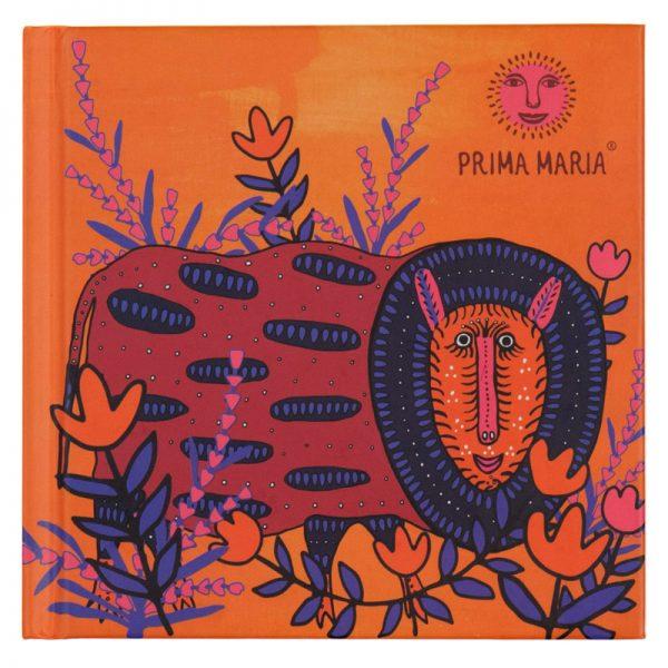 Записная книжка PRIMA, 125х125мм, 80л, тв. обложка, клетка, белый блок
