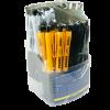 Ручка шариковая JobMax POWER автомат. с резиновым грипом, синий стержень 17609