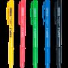 Ручка шариковая JobMax SIMPLE автомат. с резиновым грипом, синий стержень