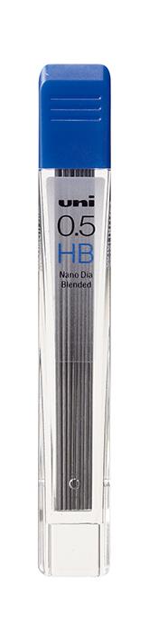 Грифель для механического карандаша NANO DIA, 0,5мм, твердость HB