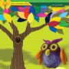 Набор цветного гофрокартона  А4, матовый, 7 листов, 7 цветов, для квилинга