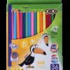 Карандаши цветные 36 цвета KIDS LINE, круглый корпус