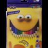 Карандаши цветные 18 цветов SMART, шестигранный корпус