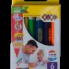 Карандаши цветные 6 цветов mini JUMBO, круглые