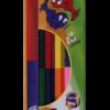 Карандаши двухцветные 6 карандашей – 12 цветов DOUBLE KIDS LINE, круглый корпус