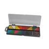 Акварельные краски 18 цветов, пластиковая коробка с крышкой