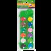 Акварельные краски 12 цветов, пластиковая коробка с крышкой + кисточка