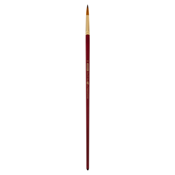 Кисти для рисования Cherry круглые СИНТЕТИКА, ART Line, длинная ручка
