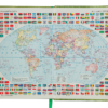 Ежедневник датированный 2021 ORION, A5, зеленый 19580
