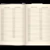 Ежедневник А5 датированный 2021 STATUT коричневый 41779