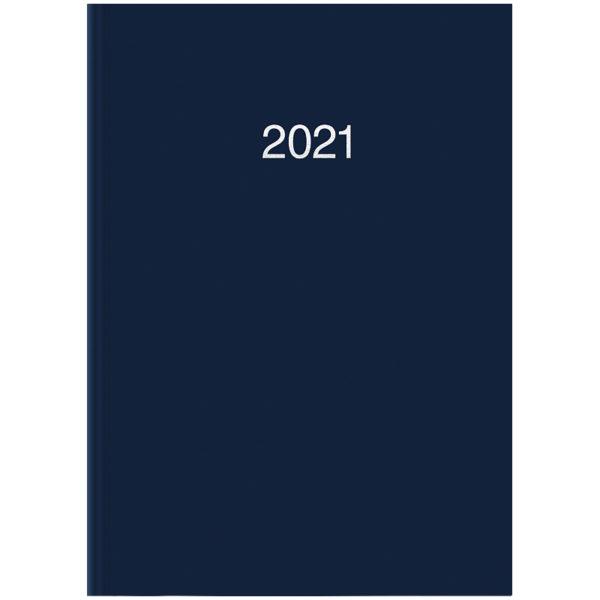 Ежедневник карманный датированный BRUNNEN 2021 MIRADUR TREND, синий