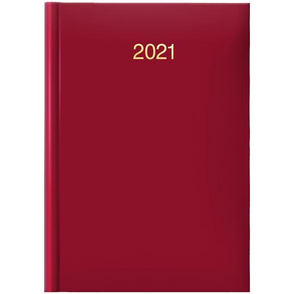 Ежедневник датированный BRUNNEN 2021 СТАНДАРТ MIRADUR TREND, красный