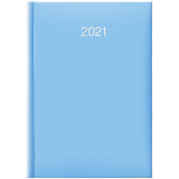Ежедневник датированный BRUNNEN 2021 СТАНДАРТ MIRADUR TREND, голубой