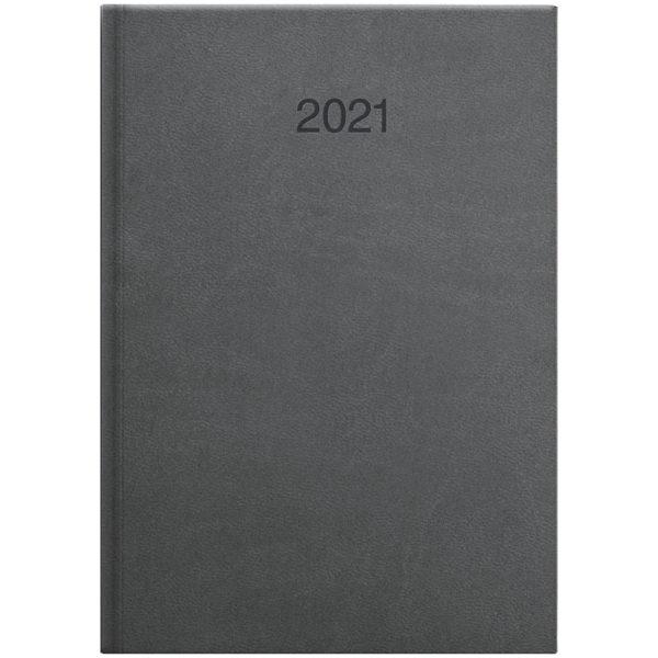 Ежедневник датированный BRUNNEN 2021 СТАНДАРТ INTENTION, графит