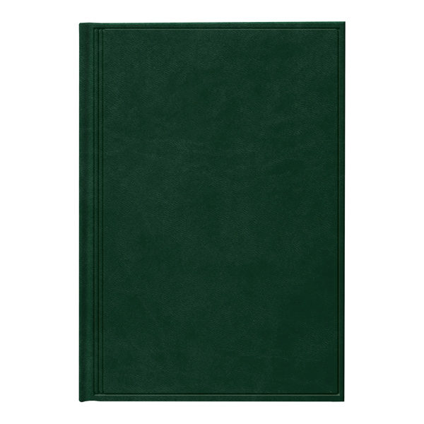 Ежедневник А5 недатированный АГЕНДА TORINO зеленый
