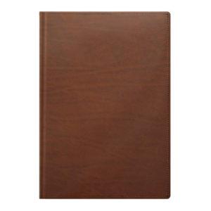 Ежедневник А5 недатированный LaFONTAINE коричневый КОЖА