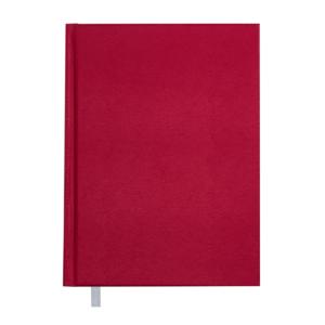 Ежедневник А5 датированный 2019 PERLA твердая обложка, красный