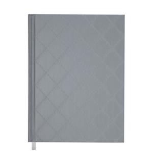 Ежедневник А5 датированный 2019 CHANEL твердая обложка, серебряный