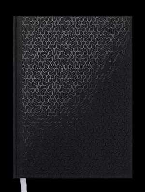 Ежедневник датированный 2020 VELVET, А5, твердая обложка, черный