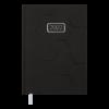 Ежедневник датированный 2022 VELVET, А5, твердая обложка, черный