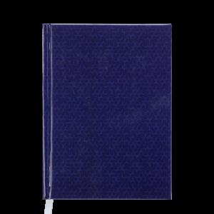 Ежедневник датированный 2020 VELVET, А5, твердая обложка, синий