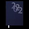 Ежедневник датированный 2022 OFFICE, А5, твердая обложка, синий