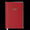 Ежедневник А6 карманный датированный 2021 STRONG красный, твердая обложка