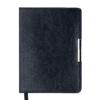 Ежедневник датированный 2021 SALERNO А6, черный, гибкая обложка
