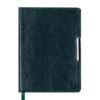 Ежедневник датированный 2021 SALERNO А6, зеленый, гибкая обложка