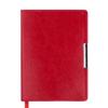 Ежедневник датированный 2021 SALERNO А6, красный, гибкая обложка