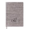 Ежедневник А6 карманный датированный 2019 RELAX золотой, гибкая обложка