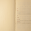 Ежедневник А5 недатированный BELLA бирюзовый, кремовый блок, на кнопке 21346