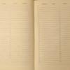 Ежедневник А5 недатированный BELLA бирюзовый, кремовый блок, на кнопке 21348