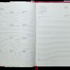 Ежедневник 2022 А4 BRAVO(Soft) датированный бордовый, кремовый блок 21252