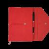 Ежедневник А5 недатированный BELLA фиолетовый, кремовый блок, на кнопке 21362