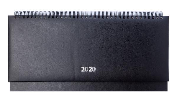 Планинг 2020 датированный STRONG черный, твердая обложка