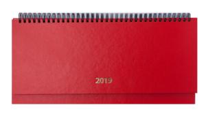 Планинг 2020 датированный STRONG красный, твердая обложка