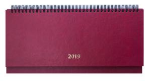 Планинг 2019 датированный STRONG бордовый