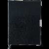 Ежедневник 2022 А4 SALERNO датированный черный, кремовый блок, гибкая обложка