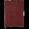 Ежедневник 2022 А4 SALERNO датированный коричневый, кремовый блок, гибкая обложка