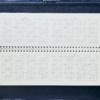Планинг 2019 датированный SALERNO зеленый, кремовый блок 21668